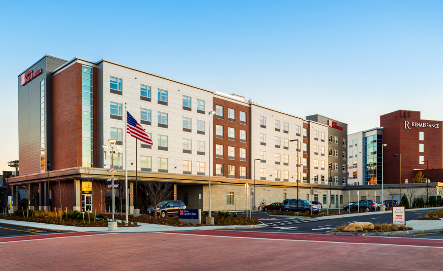 Hilton Garden Inn at Patriot Place in Foxborough MA