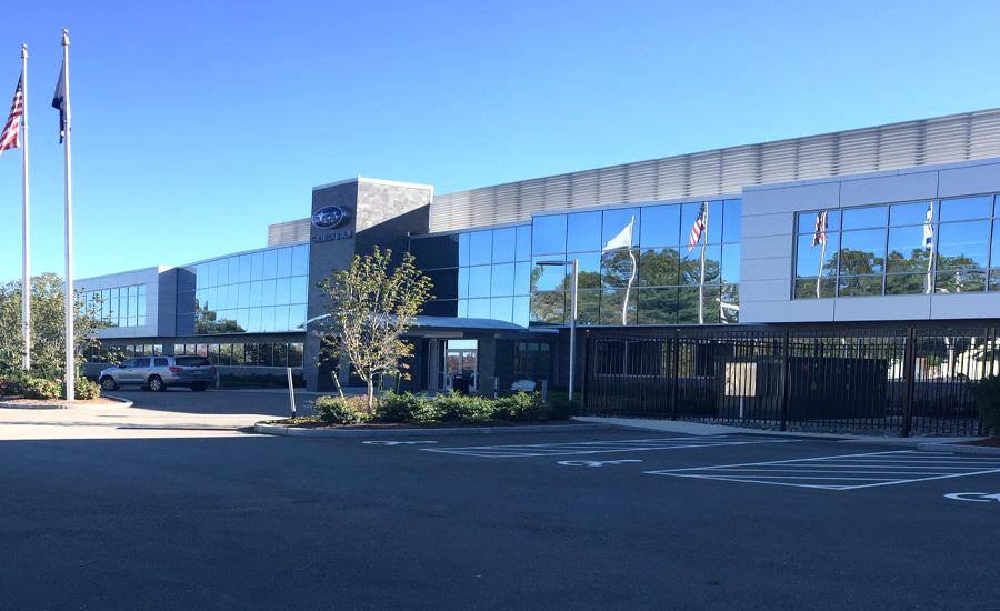 Subaru of New England in Norwood MA